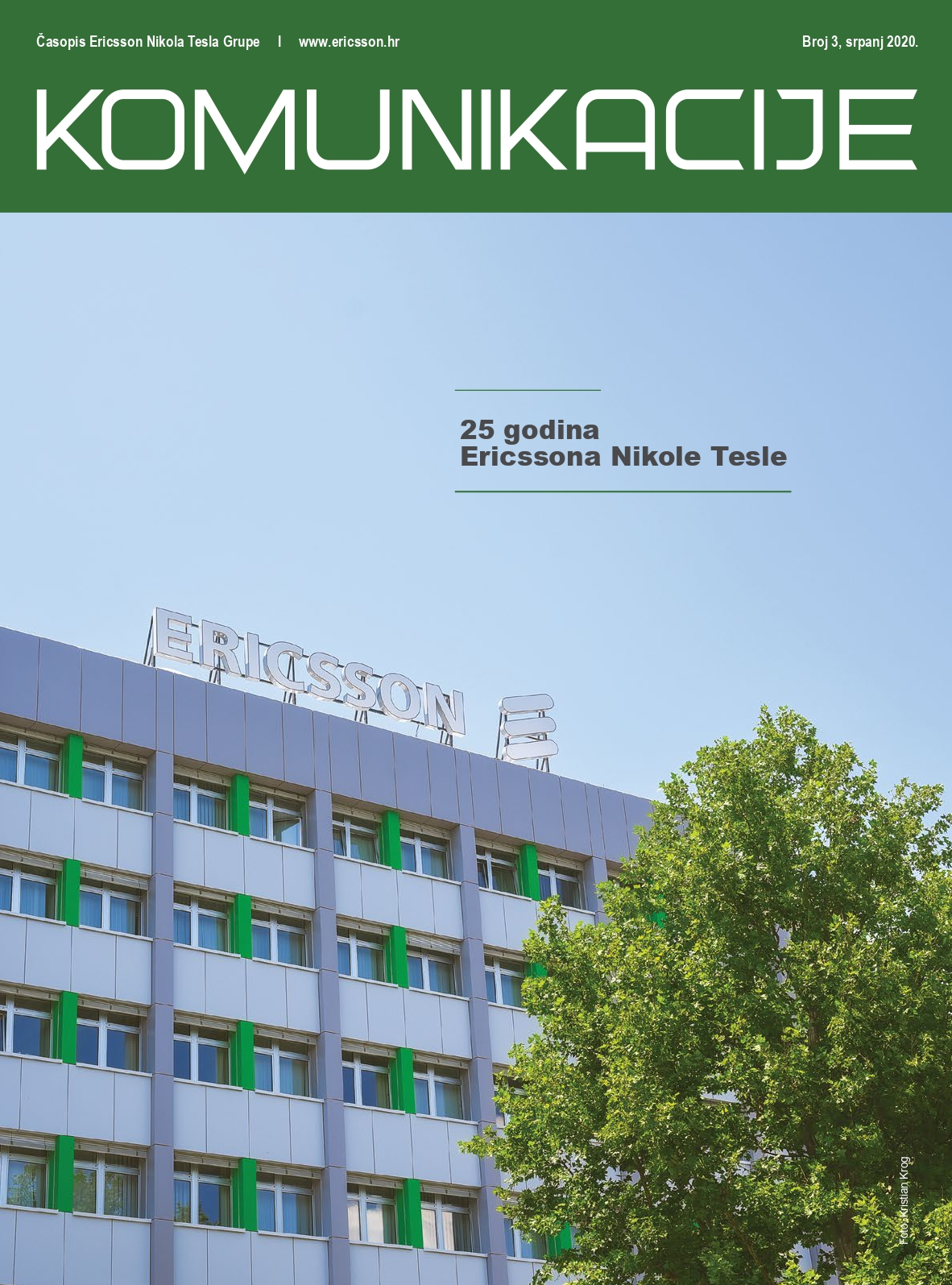 Časopis Ericsson Nikola Tesla Grupe - Broj 3, srpanj 2020.